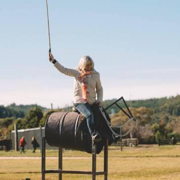 Author Fiona Stocker, The Creech, Tasmania