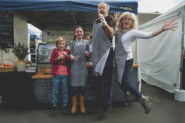 Fiona Stocker and Langdale Farm pork