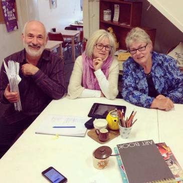 Tasmanian Writers' Competition judges