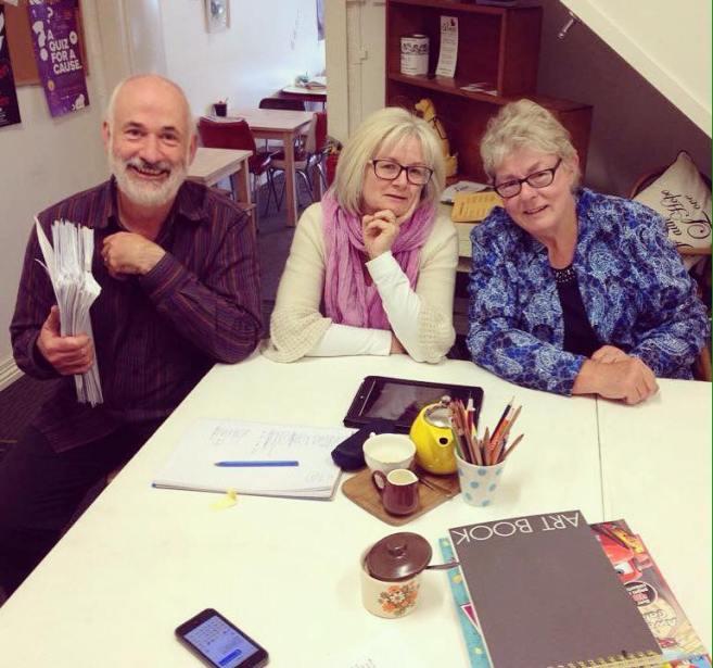 Tasmanian Writers' Competition judges