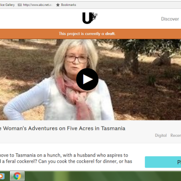 Snapshot of video for Apple Island Wife on Unbound campaign page