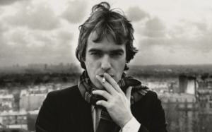 Martin Amis in Paris by Angela Gorgas