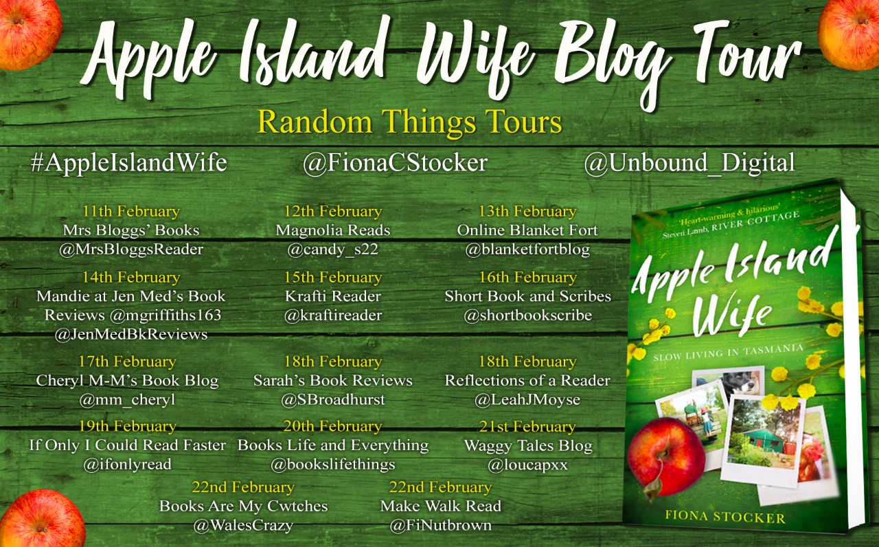 Apple Island Wife Blog Tour Poster