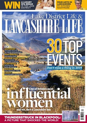Lancashire Life article about Fiona Stocker's book Apple Island Wife
