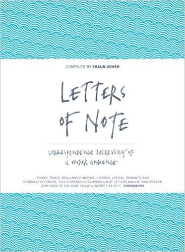 Letter of Note, Father's Day Gift Books, a post by Fiona Stocker